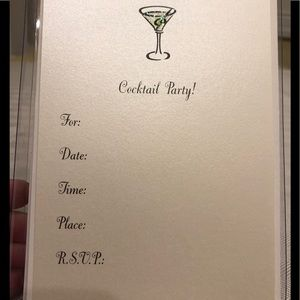 Marcel Schurman Cocktail Invitations, 8